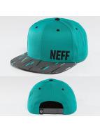 NEFF Кепка с застёжкой Daily Pattern бирюзовый