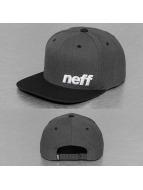 NEFF Кепка с застёжкой Daily серый