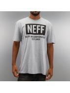NEFF Футболка New Worl серый