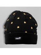 NEFF Beanie Goldstar zwart
