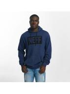 NEFF Bluzy z kapturem New World niebieski