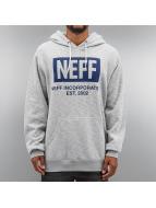 NEFF Bluzy z kapturem New World szary