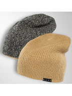NEFF Bonnet Double Heater beige