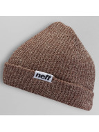 NEFF Bonnet Fold Heather brun