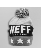 NEFF Bonnets de laine Big Star gris