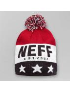 NEFF Bonnets de laine Big Star rouge