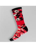 NEFF Calcetines All Smiles Mickey rojo