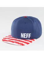 NEFF Daily Pattern Snapback Cap Royal/Red