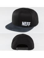 NEFF Casquette Snapback & Strapback Daily Pattern noir