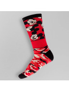 NEFF Chaussettes All Smiles Mickey rouge