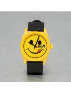 NEFF horloge Daily geel