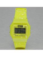 NEFF horloge Flava XL Surf geel