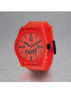 NEFF horloge Daily rood