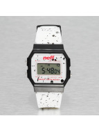 NEFF horloge Flava XL Surf wit