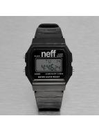 NEFF horloge Flava XL Surf zwart