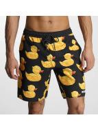 NEFF Kúpacie šortky Geo Duck Hot Tub èierna