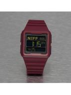 NEFF Klocka Odyssey röd