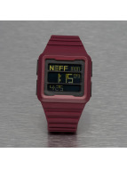 NEFF Montre Odyssey rouge