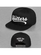 NEFF Snapback Cap Quitters black