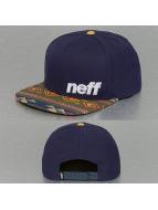 NEFF snapback cap Daily Pattern blauw