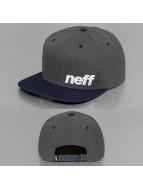NEFF Daily Snapback Cap Grey/Navy