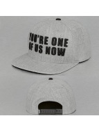 NEFF Snapback Cap Wordplay grau