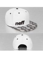 NEFF Snapback Capler Daily beyaz
