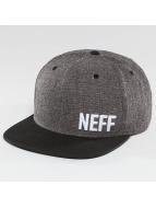 NEFF Snapback Caps Daily Fabric czarny