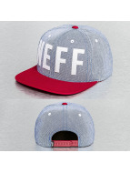 NEFF Snapback Caps Brother niebieski