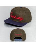 NEFF Snapback Caps Company oliwkowy
