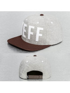 NEFF Snapback Caps Brother szary