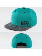 NEFF Snapback Caps Daily Pattern turkoosi