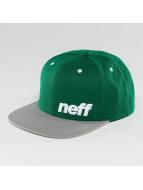 NEFF Snapback Caps Daily vihreä