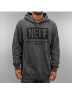 NEFF Sweat à capuche New World gris