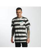 NEFF T-Shirt Christoph Washed Strip blanc