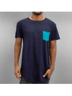 NEFF T-Shirt Bosley Pocket blau