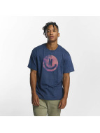 NEFF T-Shirt Smiley bleu
