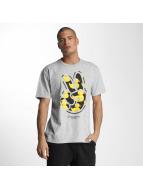 NEFF t-shirt Paz grijs