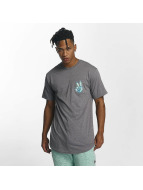 NEFF T-Shirt Peece Scallop gris