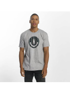 NEFF T-Shirt Smiley gris