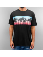 NEFF T-Shirt Palm Stripe schwarz