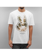 NEFF T-Shirt Paz Roads white