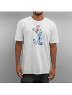 NEFF t-shirt Watercolor Run Mickey75 wit