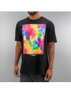 NEFF t-shirt Quad Dye zwart