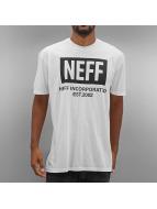 NEFF T-Shirts New World beyaz
