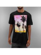 NEFF T-skjorter Quad Sunset svart