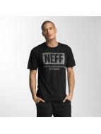 NEFF T-skjorter New World Push svart