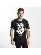 NEFF T-skjorter Paz Marble svart