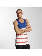 NEFF Tank Tops Dye Stripes niebieski