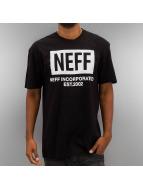 NEFF Tričká New World èierna